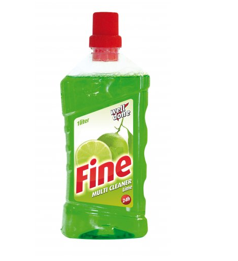 WELL DONE Fine Multi Cleaner Lime 1l