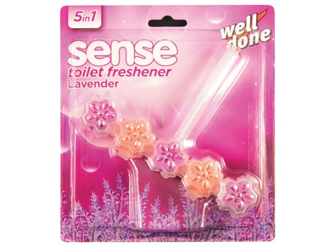 WELL DONE Sense WC blok 5 in 1 lavander