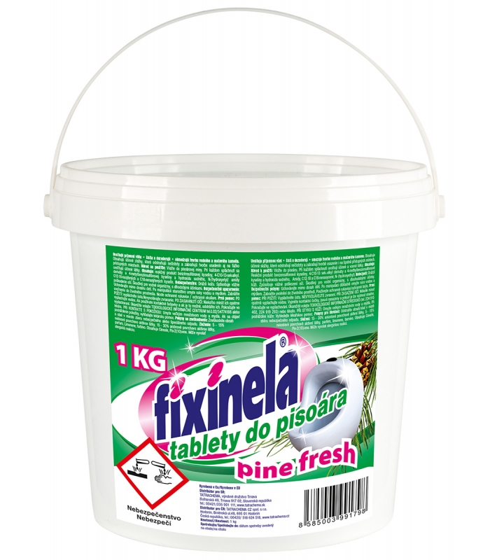 TATRACHEMA FIXINELA tablety do pisoárů Borovice 1kg